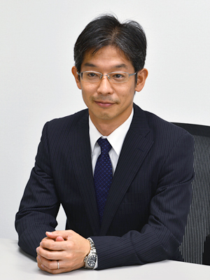 代表取締役 松本照生 写真