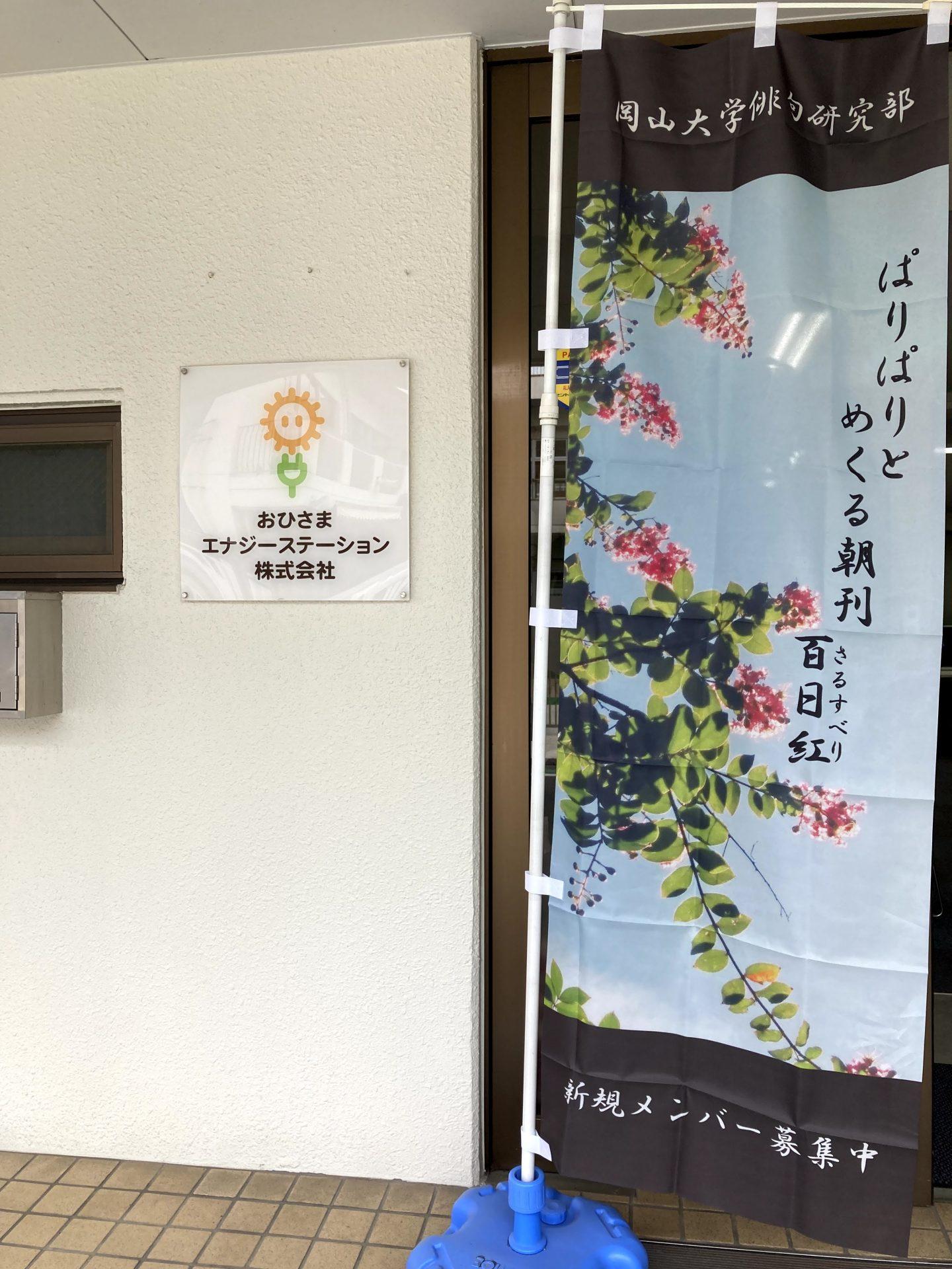 俳句のぼり6月
